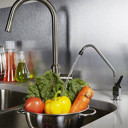 rubinetto gratis in dotazione con il depuratore